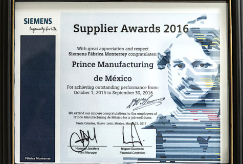 Siemens2016SupplierAward