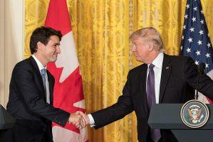 new NAFTA deal, USMCA, Trump Trudeau