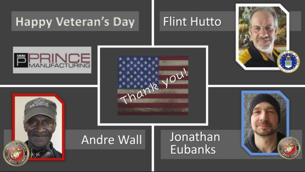 Saluting Prince's Veterans!
